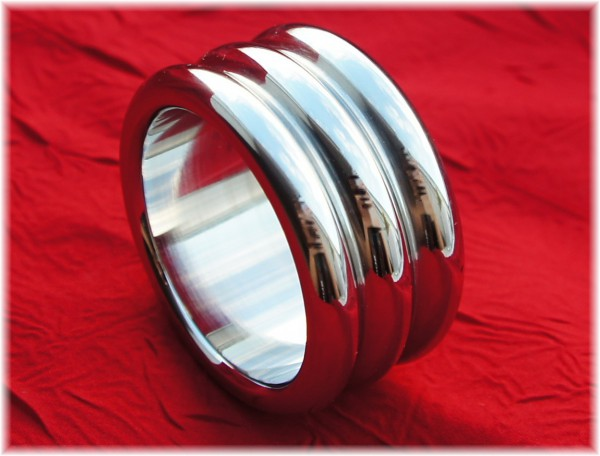 Stainless Steel Cock Ring Trio