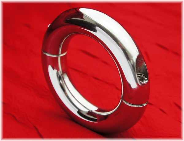 Stainless Steel Round Cock Ring divisible