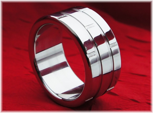 Stainless Steel Cock Ring WallStainless Steel Cock Ring Wall